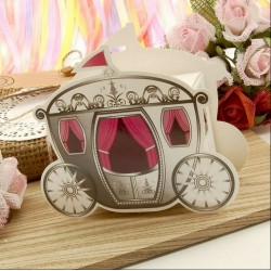 Cinderella Carriage Favour Boxes ( 25 or 250 Pieces )