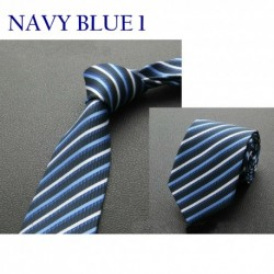 Men's Stripes Pattern Necktie