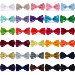Groom's Solid Color Bow Tie
