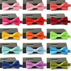 Kid's Solid Color Bow Tie