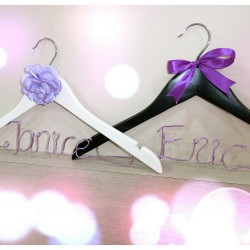 Personalized Wedding Dress or Suit Hanger
