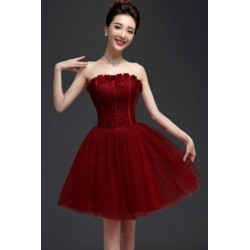 2016 New Summer Korean Style Lace Off Shoulder Bridesmaid Dress