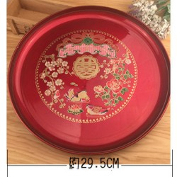 Chinese Traditional Wedding Fruit or Tea Set Tray