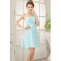 Chiffon Knee Length Dinner Dress