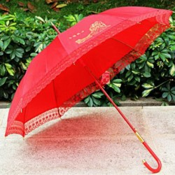 Chinese Traditional Wedding Yong Jie Tong Xin Umbrella