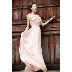 2016 New Spring & Summer Bridesmaid Toga Evening Dress