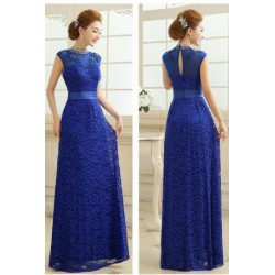 2016 Halter Neck Bridesmaid Long Evening Dress