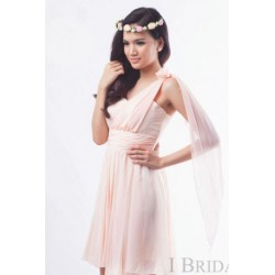 Long Tail Chiffon Dress