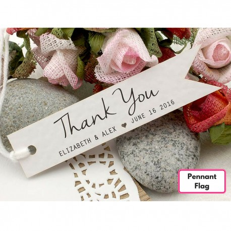 Images Of Wedding Thank You Gifts : Wedding Favors > Personalized White Wedding Favor / Thank You / Gift ...