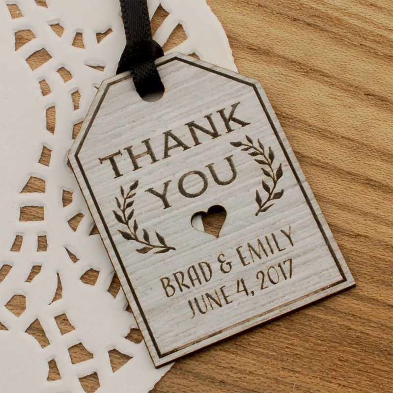 Wedding Gift List Next : ... Laser Engraved Formica Wedding Gift Tags (4 Designs) Gifts & Cards