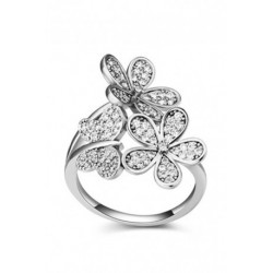 Spring Collection 4 Bridal Engagement Rings (2 Colors)