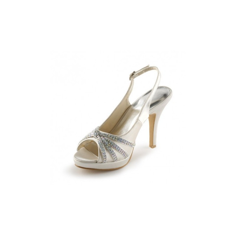 fashion bride bridal shoes sechium slingback wedding