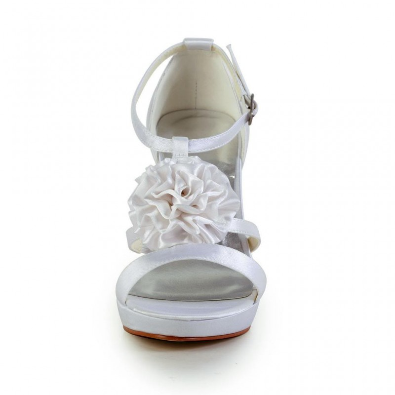 Flower Trio Wedding Shoes