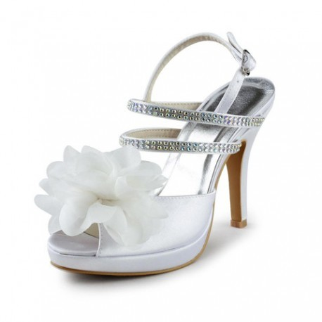 Rosaa Flower Wedding Shoes
