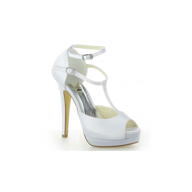 Jessy peep toe wedding shoes bridal shoes - My peep toes ...