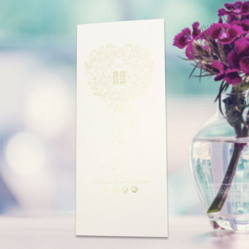Home > Gifts & Cards > Chinese Wedding Card ( SPM86012G )