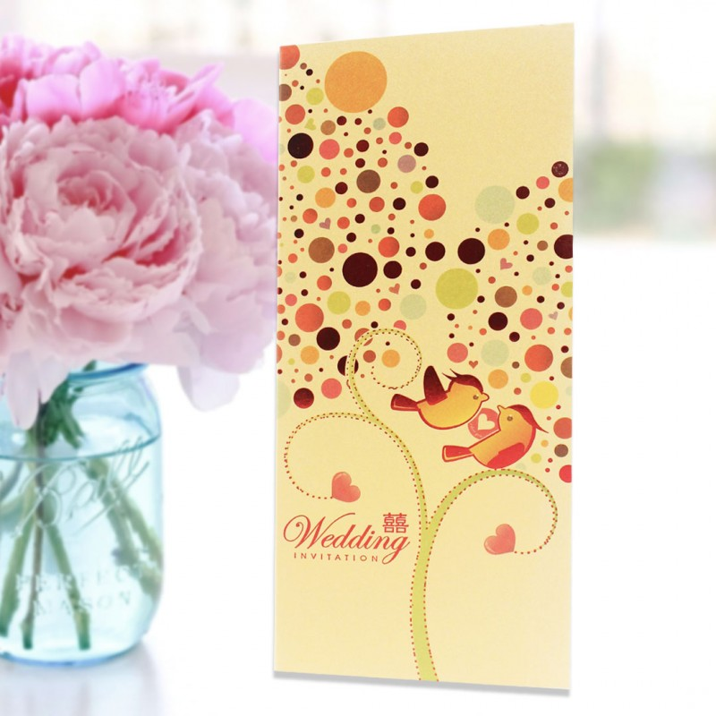 Home > Gifts & Cards > Chinese Wedding Card ( SPM86003B )
