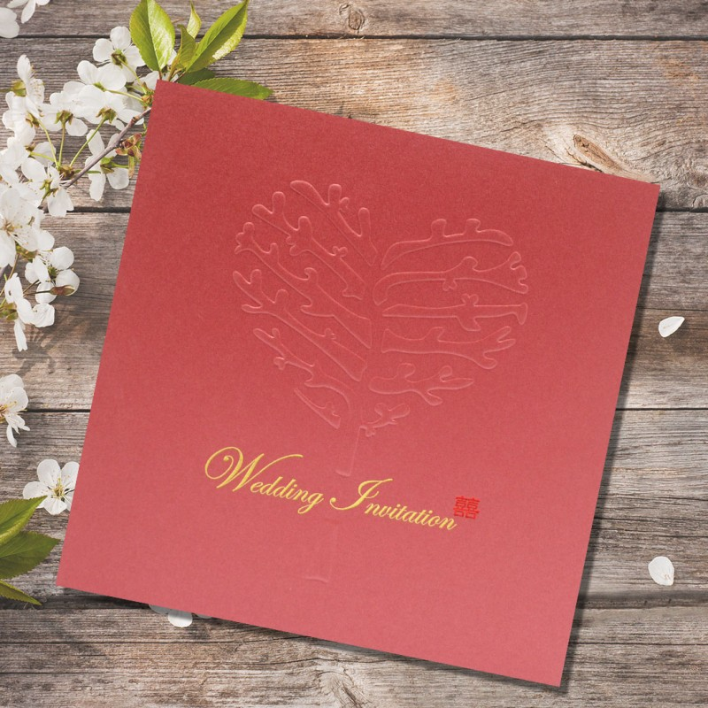 Wedding Gift List Next : Home > Gifts & Cards > Chinese Wedding Card ( WIC Series 209523 - G...