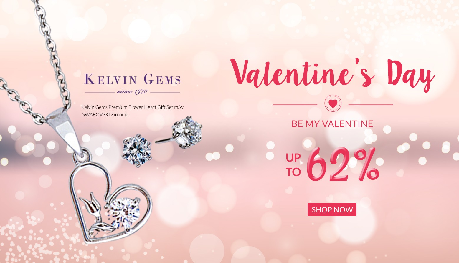 Valentine's Day Up to 62%
