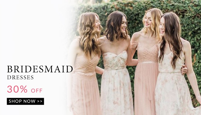 Bridesmaid Dresses Discount Up To 30%