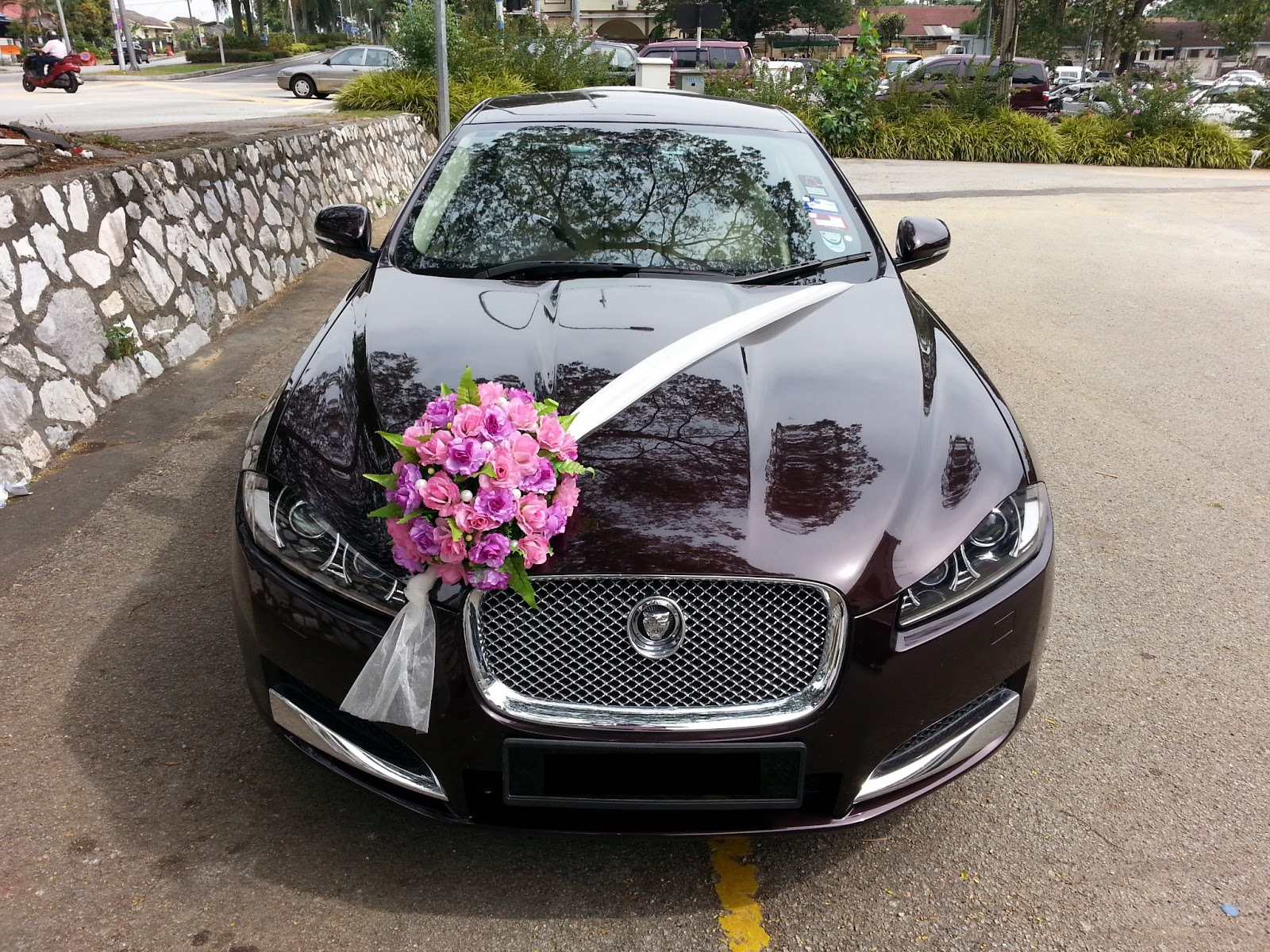 Malaysian Indian Wedding Car Decoration Wedding Dress Image